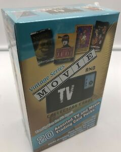 Movie-and-TV-Collector-Trading-Card-Unopened-Pack-Box-Vintage-Series-20-count