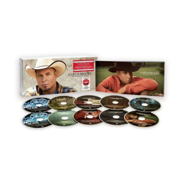 Garth Brooks The Ultimate Collection Exclusive Box Set