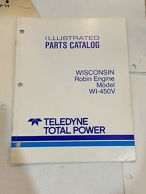 Wisconsin Robin Engine Models WI-450V, Illustrated Parts Catalog | eBay | Wisconsin Robin Engine Parts Diagram |  | eBay