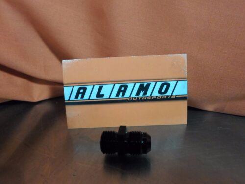 Vibrant 10229 BLACK 6AN male to 14 x 1.5 adapter   GARRETT WATER JACKET  GT30