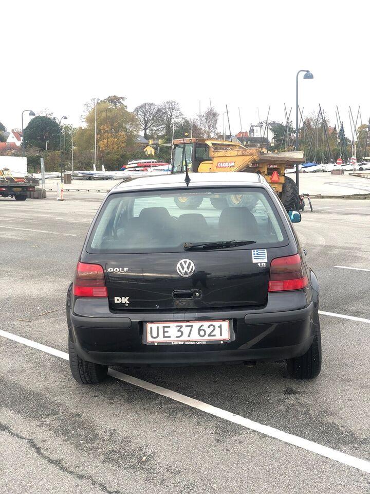 VW Golf IV, 1,8, Benzin