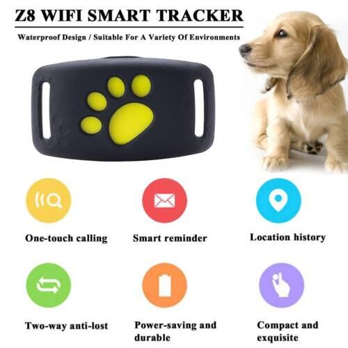 Mini Dog Cat Collar Pet ID Locator Real Time GPS Tracker GSM Tracking Waterproof