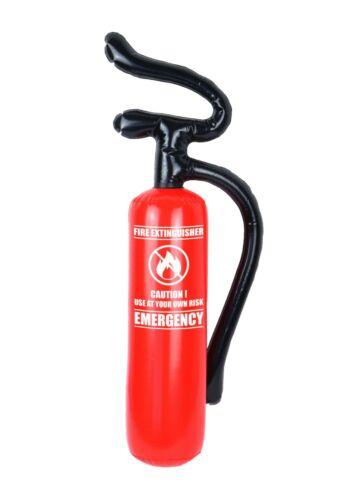 Gonflable extincteur 70 cm Blow Up Pompier Déguisement Décoration Prop UK