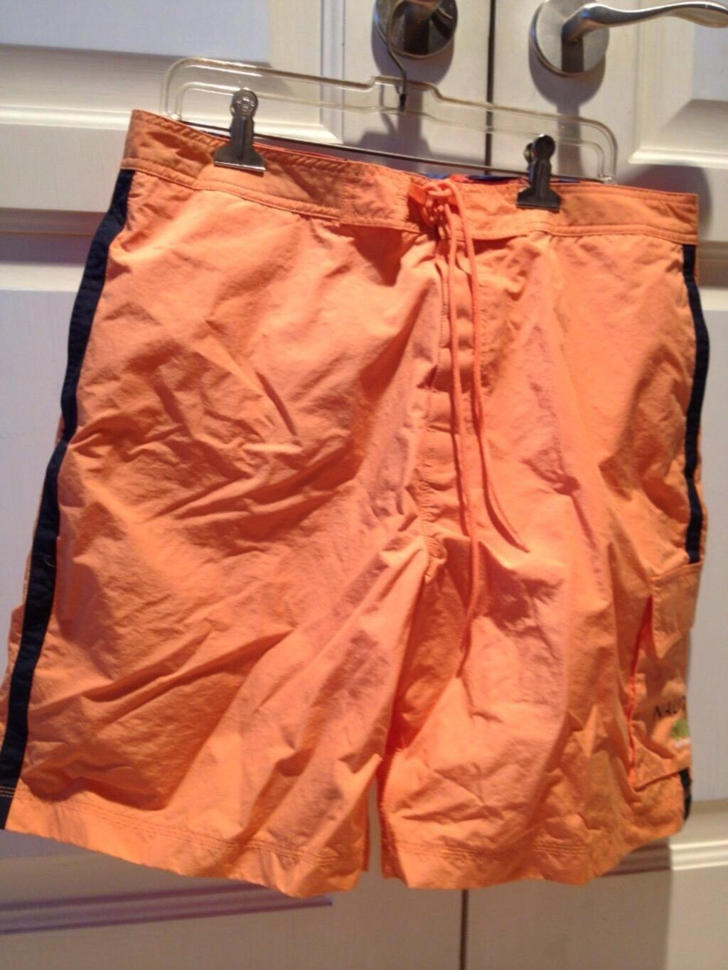 orange board shorts by nautica surf size 36