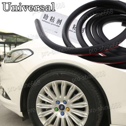 Universal Rubber Wheel Eyebrow Protector Lip Fender Flare Guard Trim Fit Nissan