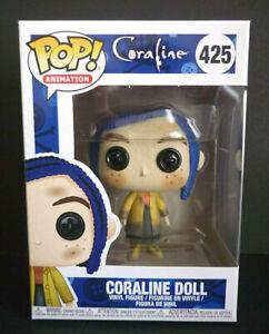 Funko Pop Coraline Coraline Doll 425 Vinyl Figure Ebay