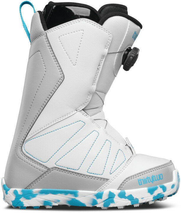 ThirtyTwo 32 Boa Kids Lashed Snowboard Boots 2017 White Grey bluee