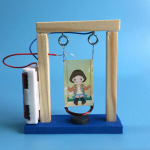 Invention-experiment-wood-electromagnetic-science-DIY-swing-set-educational-t-I1
