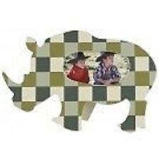 Cadre photo ENFANT KIDSLAB / Rhinocéros / Décoration Murale en bois NEUF