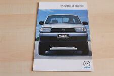 89688) Mazda B Serie Prospekt 06/1999