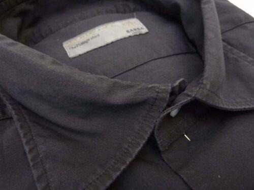 Pre collare di diffusione 17 vendita scolorito MEZZANOTTE-quasi nero Camicia BARBA DANDYLIFE