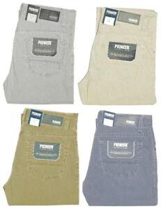 PIONEER-RANDO-leichte-Sommer-Stretch-Stoff-Jeans-4-Farben-waehlbar