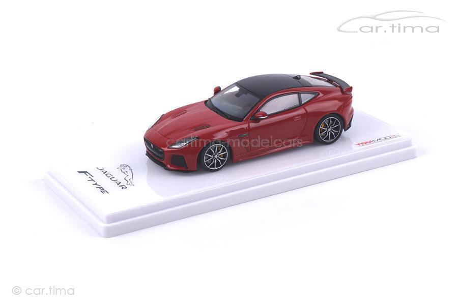 Jaguar F-TYPE SVR SVR SVR AWD-Caldera rouge-TSM MODEL - 1 43 - tsm430148 b61f32
