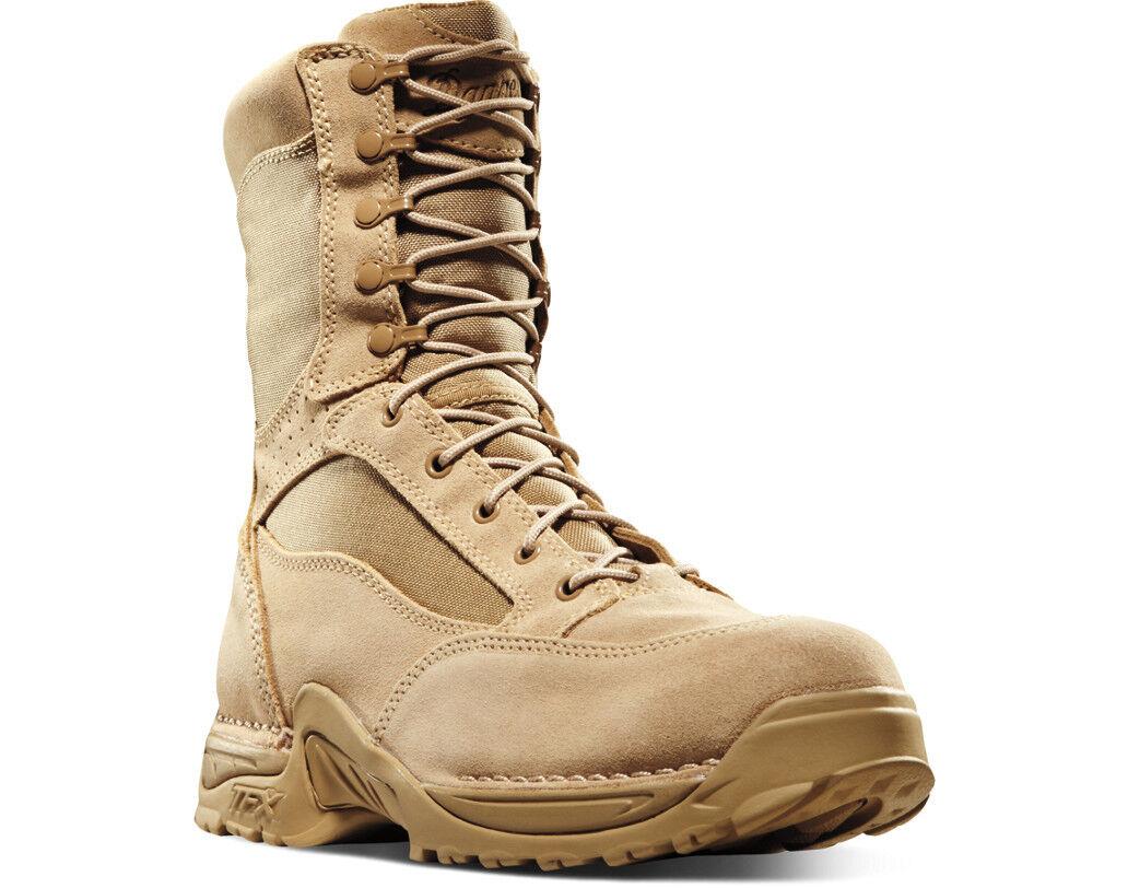 NEW Danner TFX Desert Desert Desert Rough-Out Stiefel, 8  400g, Tan Leather Nylon Gore-tex e6d207