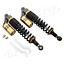 400mm-Ojo-A-Ojo-Motocicleta-Amortiguador-de-suspension-Shock-Absorber-Oro miniatura 1