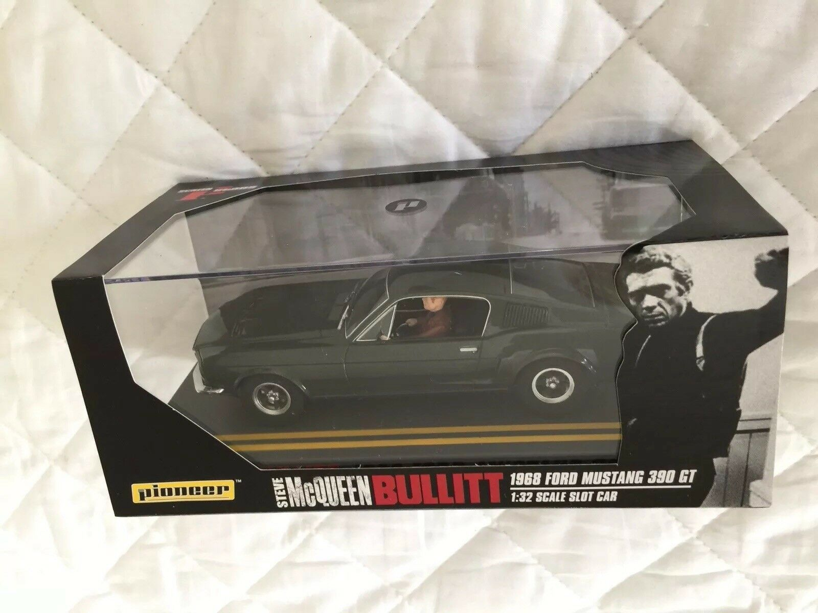 Pioneer Steve McQueen Bullitt  Ford Mustang slot voiture  choix à bas prix