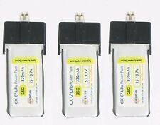 3pcs of Hyperion G3 330mAh 1S 3.7V 25C Lipo Battery For Blade mCPX mCPX2 mCP X