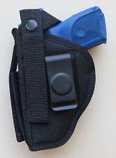 Gun Holster Hip Belt RUGER SR9C/SR40C COMPACT Pistol with built-in MAG POUCH