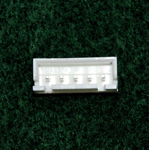 100pc JST XH male Connector Base 180° Wafer pitch=2.5mm 7P Color=White RoHS
