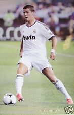 """REAL MADRID """"CRISTIANO RONALDO IN ACTION"""" POSTER - Soccer UEFA League Football"""