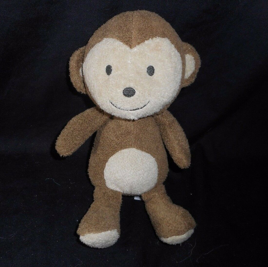 9  CARTER'S BABY BROWN MONKEY JUST ONE YOU RATTLE STUFFED ANIMAL PLUSH TOY SOFT