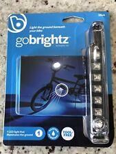 Brightz Gobrightz LED Bicycle Frame Accessory Light Blue Q4 for sale online