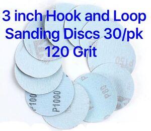 3-inch-Hook-and-Loop-Sanding-Discs-30-pcs-120-Grit