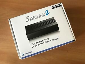 Details about SANLink2 Thunderbolt 2 to Ethernet 10G Base-T Adapter - New  Unused