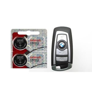 Bmw Key Fob Replacement >> Details About Bmw Keyfob Replacement Battery Maxell Cr2032 Lithium 2 Pack Tracking