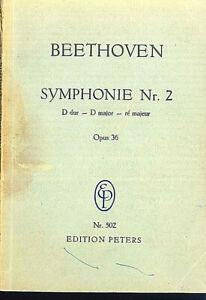 Beethoven-Sinfonie-Nr-2-D-Dur-Op-36-Studienpartitur
