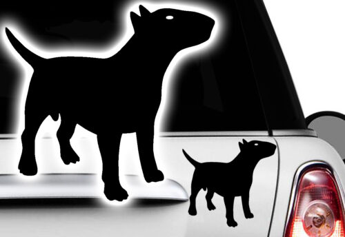 1x voiture autocollant Bull terrier bouledogue français french bulldog camionnette BULLY
