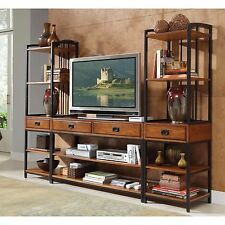 Entertainment Center Wall Unit Media Modern Office Furniture Home Decor TV Stand