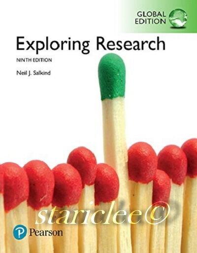 NEW 3 Days Fast to AUS / NZ Exploring Research 9E Neil J. Salkind 9th Edition