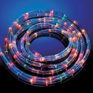 quality design 52c58 b0c98 Details about 20M MULTI COLOURED ROPE LIGHTS 8 MOOD INDOOR OUTDOOR XMAS  PARTY GARDEN LIGHTING
