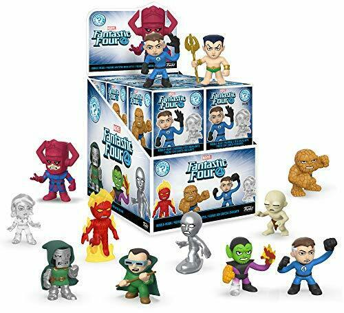 Funko - Fantastic Four - Mystery Mini Store Display with 12 Sealed Boxed Figures