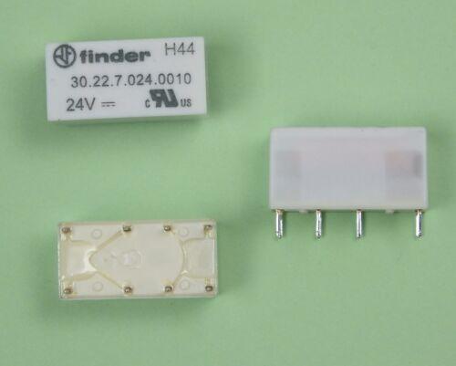 Finder Print Relais 24V DC 2xUM 2A 30.22.7.024.0010 30.22.7.024.0000