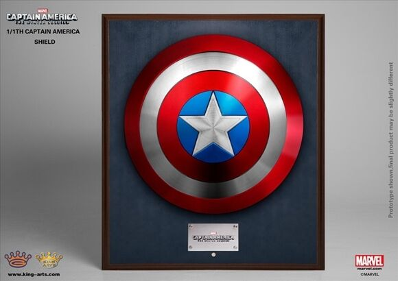 King Arts 1:1 MPS004 Avengers Captain America-Shield-Winter-Soldier-Full-Metal