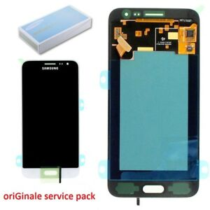 Samsung Front LCD ASM White Galaxy J3 Sm-j320
