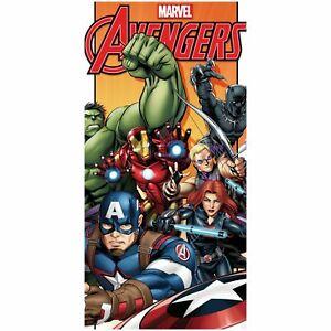 Marvel-Avengers-Battle-Serviette-Neuf-Officiel-Enfants