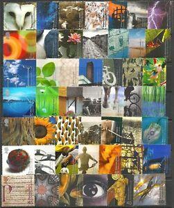 GR-BRITAIN-2000-Commemorative-Year-Set-12-sets-Millennium-Mint-NH
