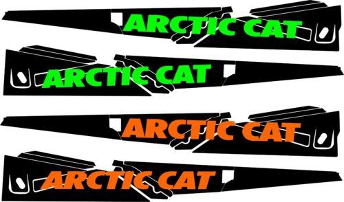 ARCTIC CAT TUNNEL GRAPHICS WRAP ZR 7000 LXR 6000 7000 8000 9000  DECAL orange xf