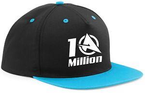 c7ce3b0e253 SNAPBACK Hat CAP ALI-A 10 MILLION youtube Adjustable 7 Colours ...