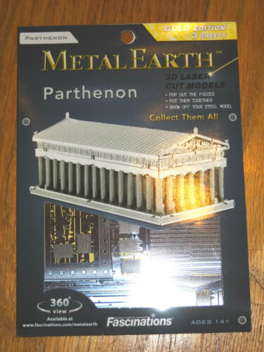 Parthenon Metal Earth 3D Laser Cut Metal Model Fascinations Greece