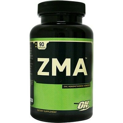 Optimum Nutrition ZMA Testosterone Support  90 Capsules LOWEST PRICES FREE SHIP