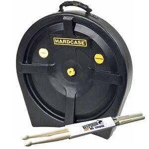 Hardcase-HN6CYM20-20-034-Cymbal-Case-fuer-6-Becken-KEEPDRUM-Drumsticks