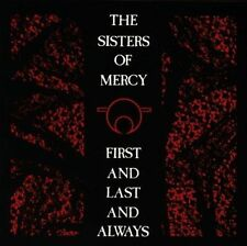 NEW* CD Album Sisters of Mercy - First & Last & Always (Mini LP Style Card Case)