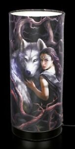 Table-Lamp-with-Wolf-Soul-Bond-Anne-Stokes-Fantasy-Bedside-Lamp-Deco