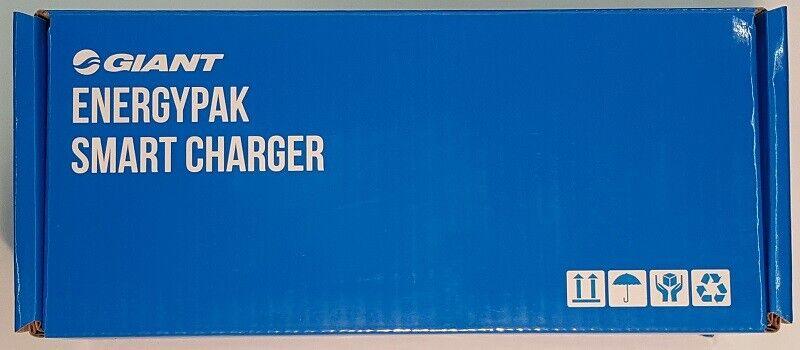 Giant Smart Charger 36V, 6A, 5 PIN Con UKTappi di potenza Euro