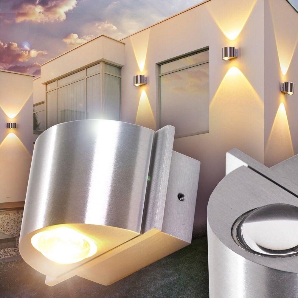 Lámpara de parojo Design LED parojo Lámparas porche jardín patio luminarias exterior emisor