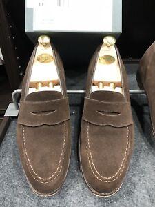 Beautifu Mens Crockett & Jones 'boston' Penny Loafers  Sale